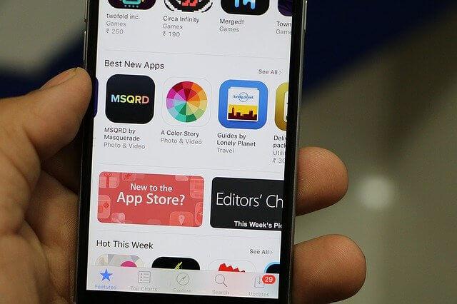 今後もiphone用アプリが作られることはない