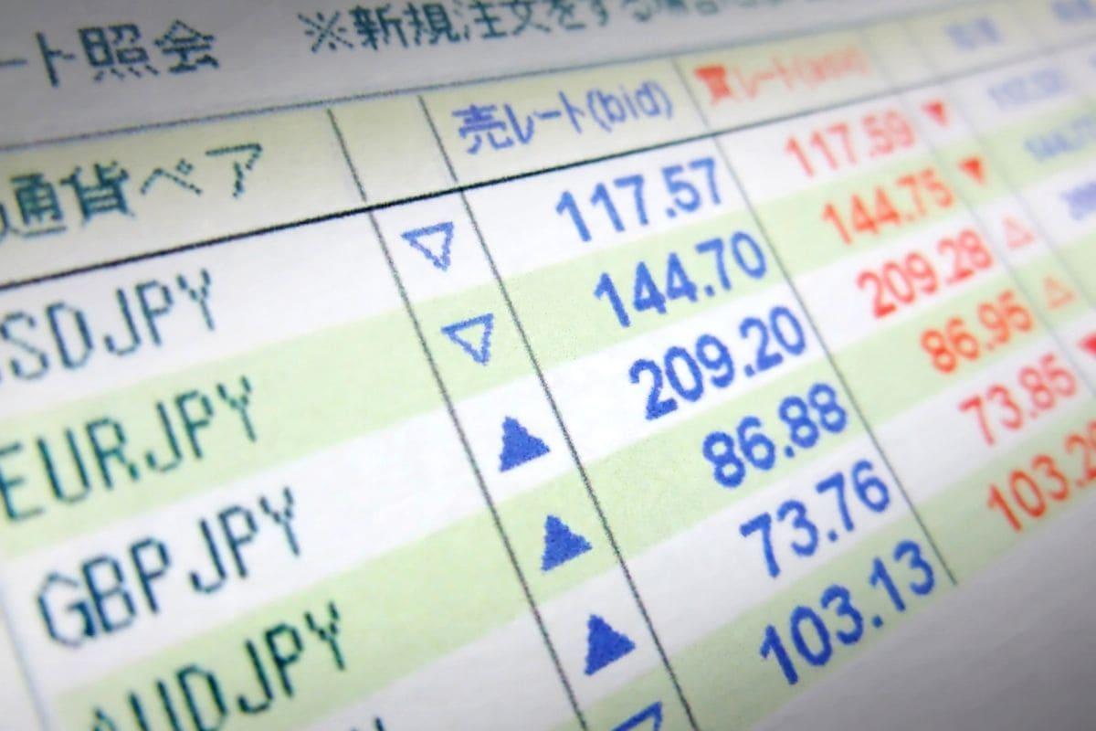 FXは為替取引の総称